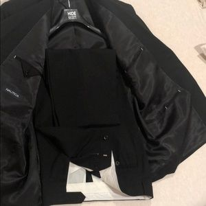Black Nautica men's suit